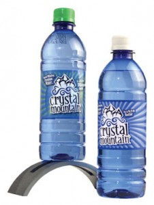 Two Crystal Mountain Water bottles